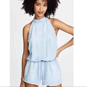 Anthropologie Cloth & Stone | Chambray Romper NWT